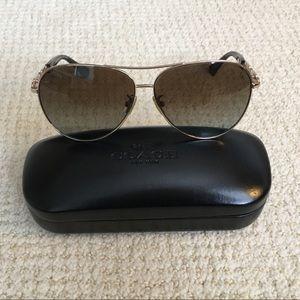 Coach Polarized Aviator Sunglasses